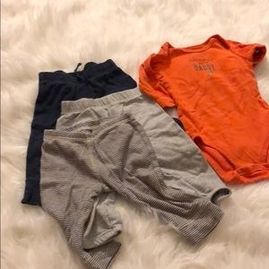 Other - 3 boys pants and 1 bodysuit